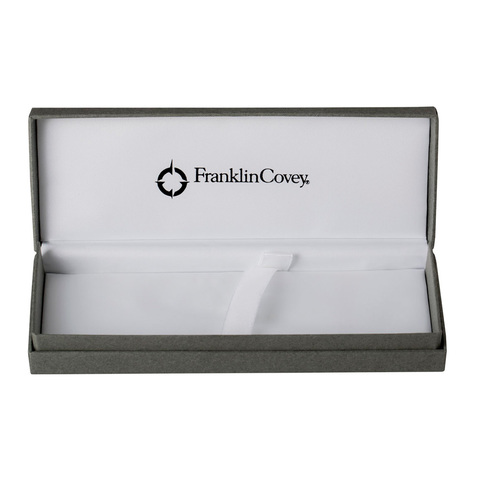 Набор FranklinCovey Greenwich - Chrome CT, шариковая ручка + карандаш, M