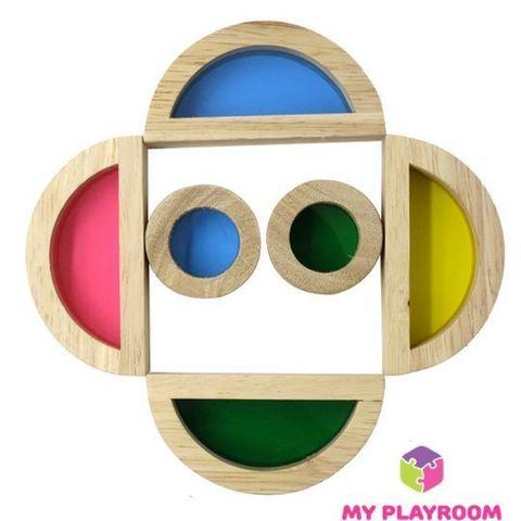 Конструктор Радужные блоки (Rainbow blocks), 20 деталей 7