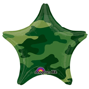 Шар Звезда Камуфляж 46 см