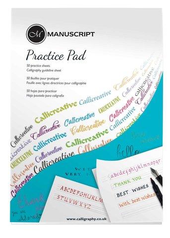 Альбом для каллиграфии Manuscript Creative Calligraphy, 30х21,1см, 80г/м2, 50 л.
