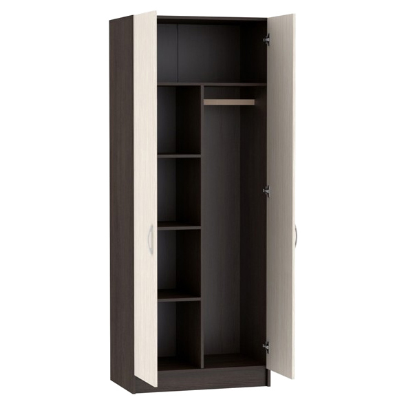 Шкаф 2-х створчатый с перегородкой ШК-553