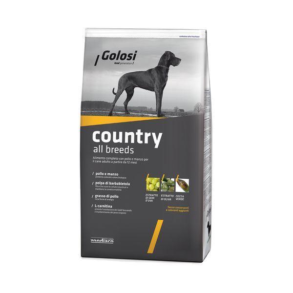 Новинки Сухой корм для собак, Golosi Country All Breeds, с курицей и говядиной ZGD27589.jpg