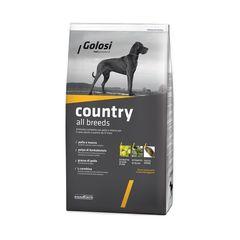 Сухой корм для собак, Golosi Country All Breeds, с курицей и говядиной