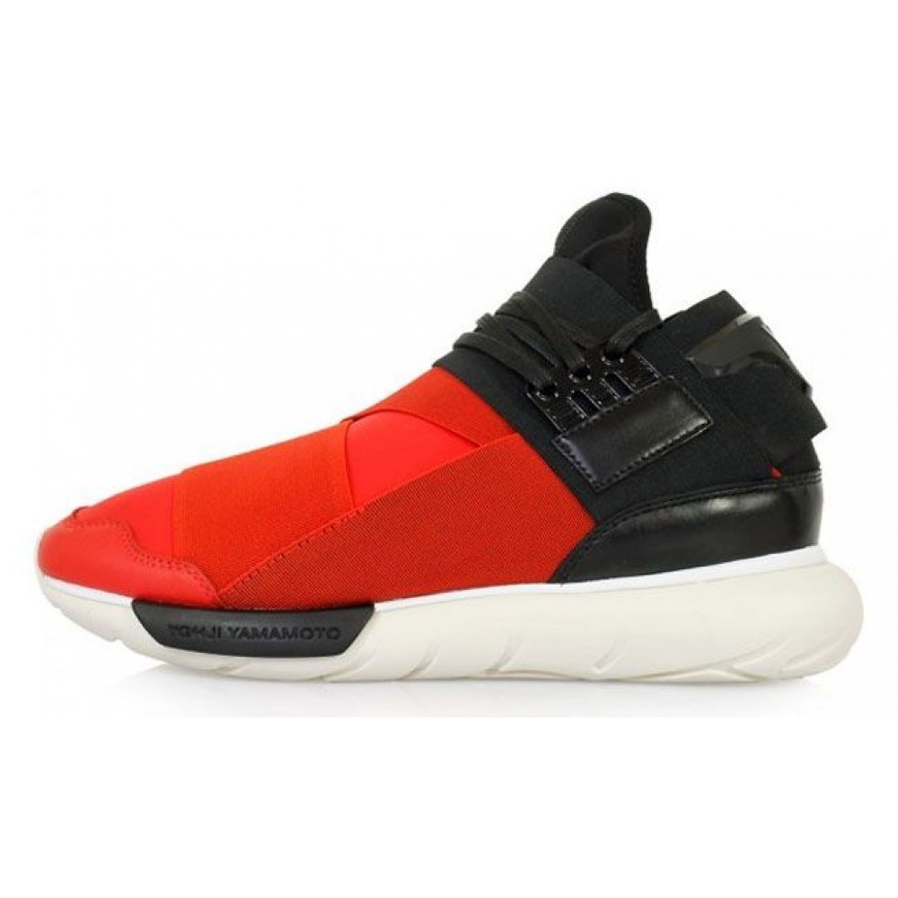 Adidas Y-3 Qasa Racer High Men (Red/Black) (012)