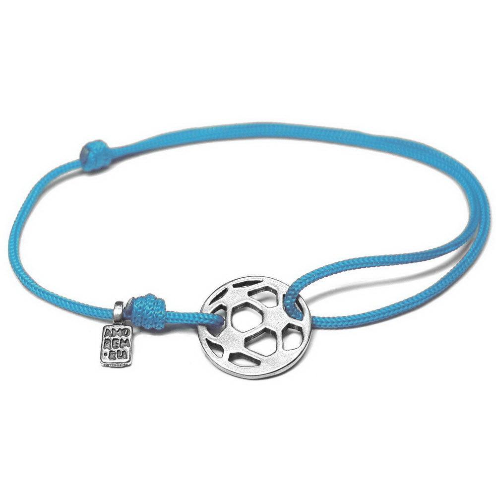 Soccer Bracelet, sterling silver