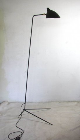 Floor lamp Serge Mouille 1 Arm