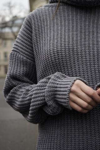 Костюм с объмным джемпером «Grey»