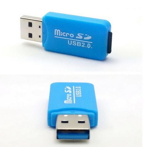 Картридер S-010 microSD на USB