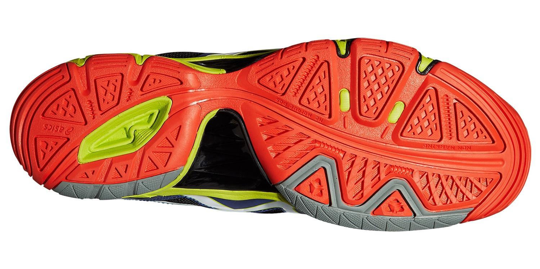 Мужские высокие волейбольные кроссовки Asics Gel-Volley Elite 3 MT (B501N 5001) синие фото