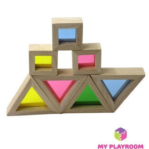 Конструктор Радужные блоки (Rainbow blocks), 20 деталей 8