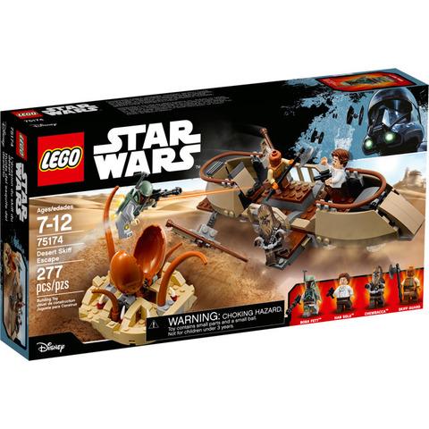 LEGO Star Wars: Побег из пустыни 75174 — Desert Skiff Escape — Лего Звездные войны Стар Ворз