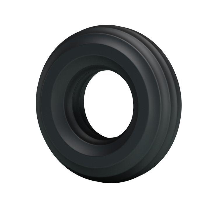 Эрекционные кольца: Чёрное широкое эрекционное кольцо