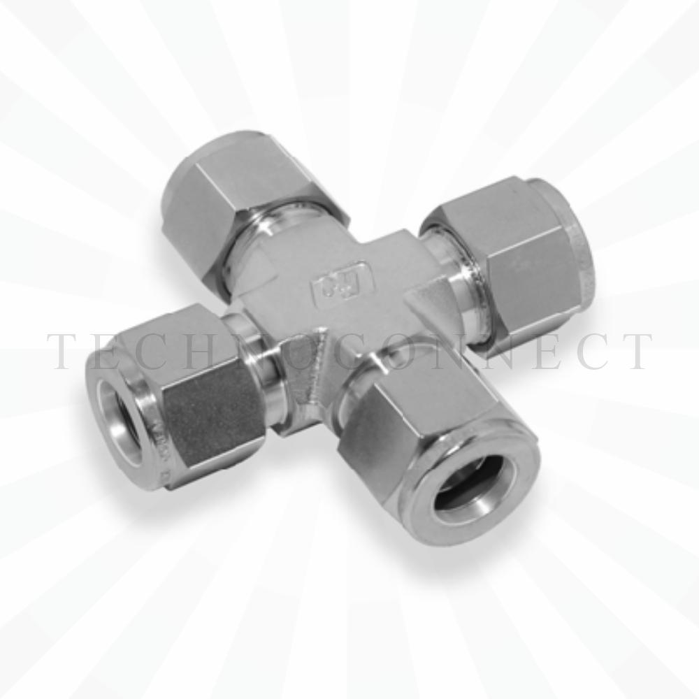 CXA-10  Соединитель типа крест: дюймовая трубка 5/8