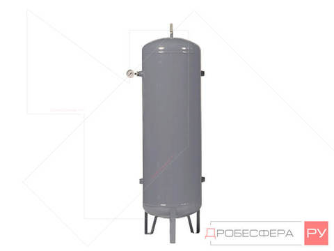 Ресивер для компрессора РВ 100/40 оцинкованный вертикальный