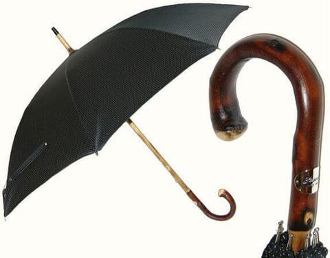 Купить онлайн Зонт-трость Pasotti-142Punto-5 Wild Chestnut в магазине Зонтофф.