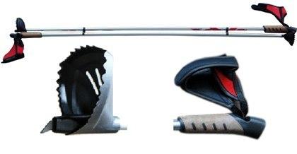 Палки лыжные алюминиевые STC TRX PRO