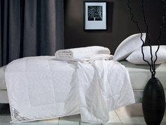 Одеяла Asabella шелковое 200х220 евро в сатине ЗИМНЕЕ