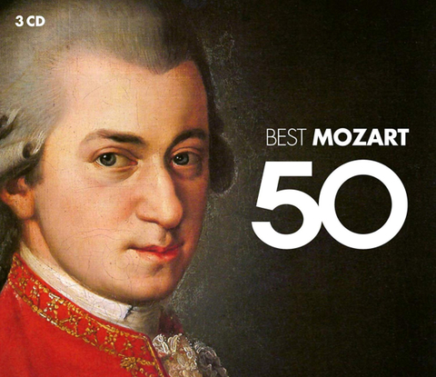 Сборник / 50 Best Mozart (3CD)
