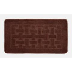 Коврик для ванной BANYOLIN 60х100 см ворс, темно-коричневый