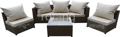 """Комплект для отдыха """"Ибица Люкс"""" с подушками"""