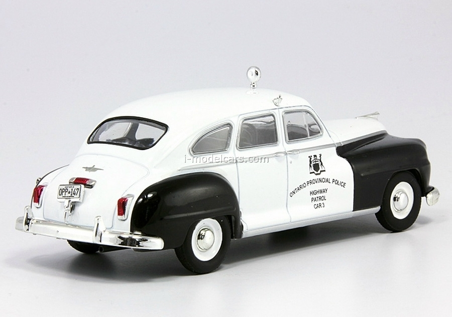 Chrysler De Soto Police Canada 1:43 DeAgostini World's Police Car #16