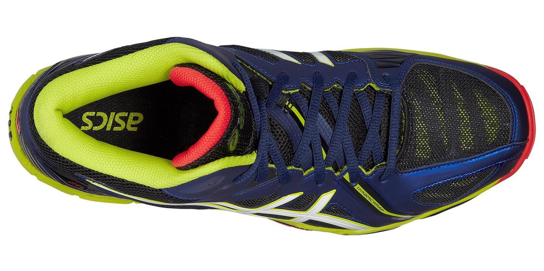 Мужские волейбольные кроссовки с высоким голеностопом Asics Gel-Volley Elite 3 MT (B501N 5001) синие