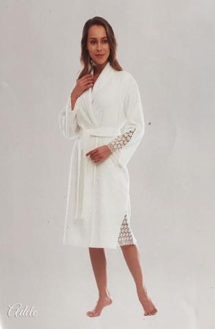 ADELE махровый  женский халат  Tivolyo Home Турция