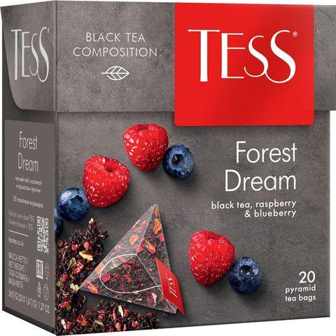 """Чай черный """"Tess"""" forest dream 20 пирамидок"""