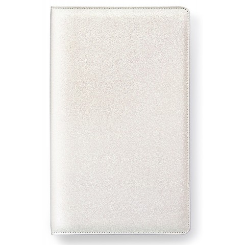 Альбом Tall Creative Photo Album от Webster's Pages -34/20/4 см- White Glitter