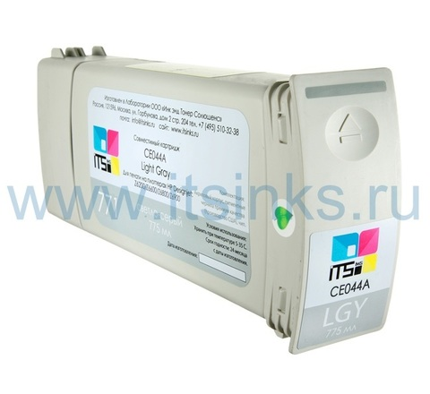 Картридж для HP 771 (CE044A) Light Gray 775 мл