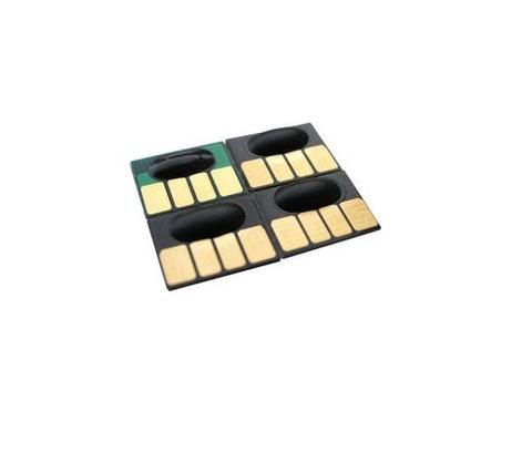 Чипы для картриджей HP 72 130мл*6 цветов (одноразовые)