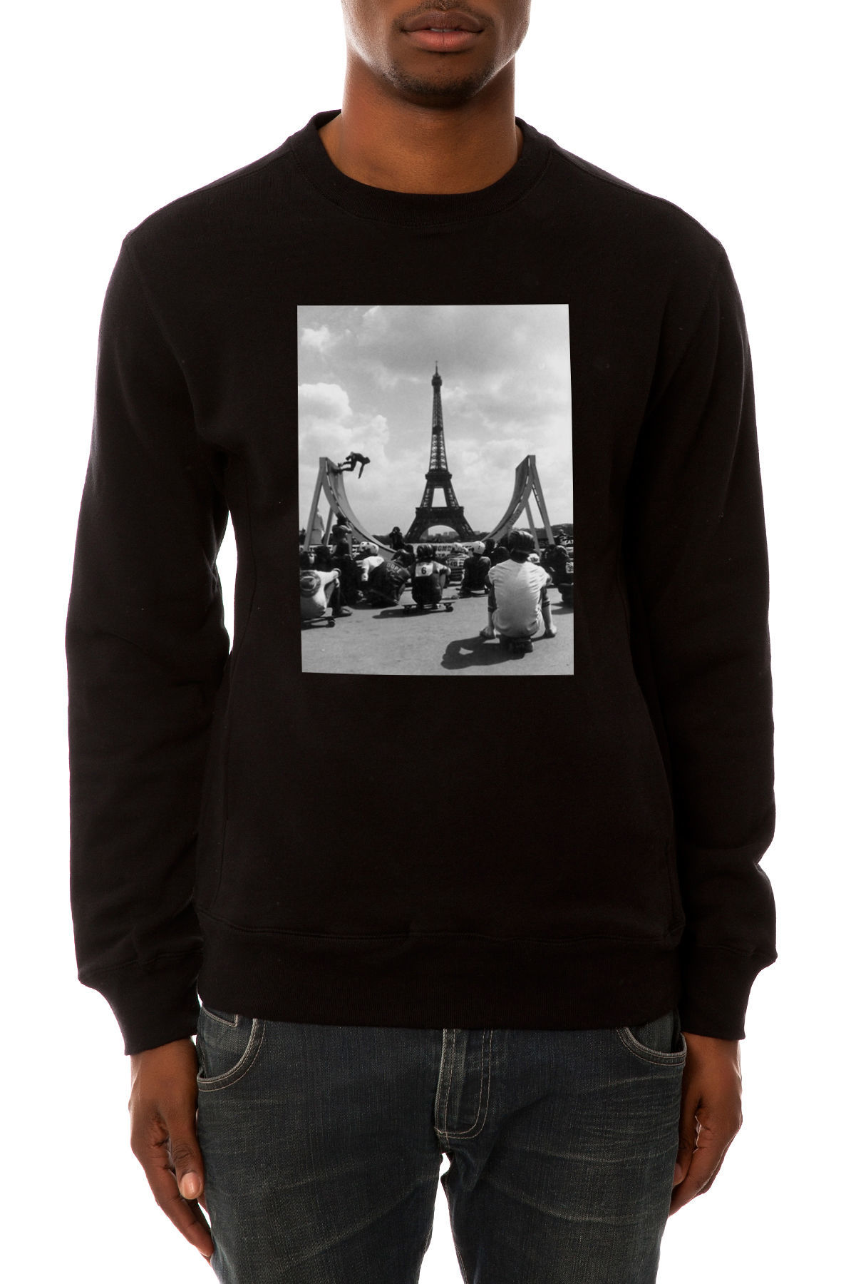 Свитшот Dope Paris черный