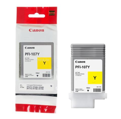 Картридж Canon PFI-107 Y/6708B001