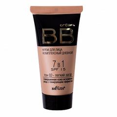 BB cream тон 02 - легкий загар