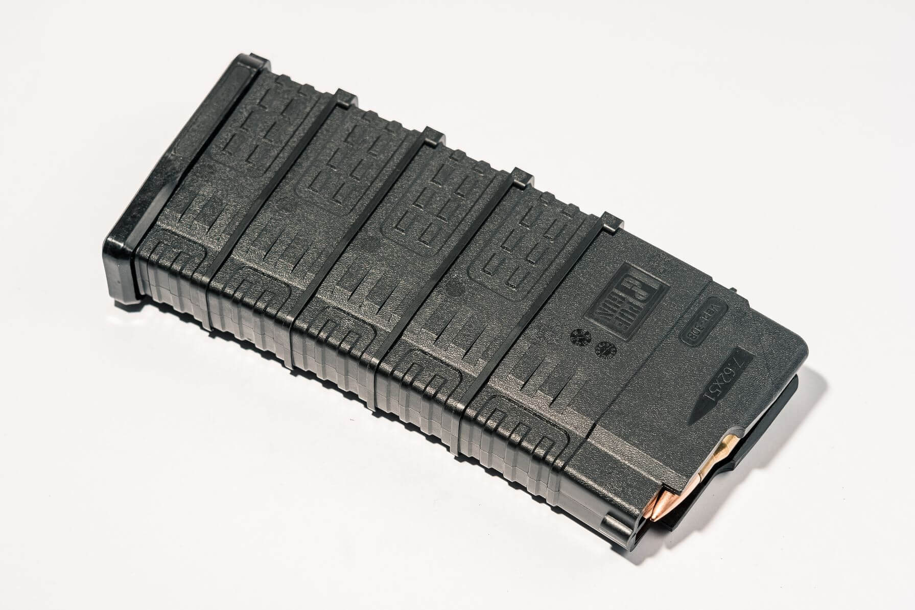 Магазин Pufgun Вепрь-308 на 25 патронов, черный