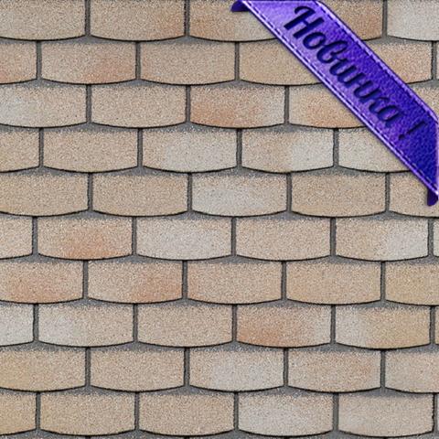 Фасадная плитка Технониколь Hauberk травертин 1000х250 мм