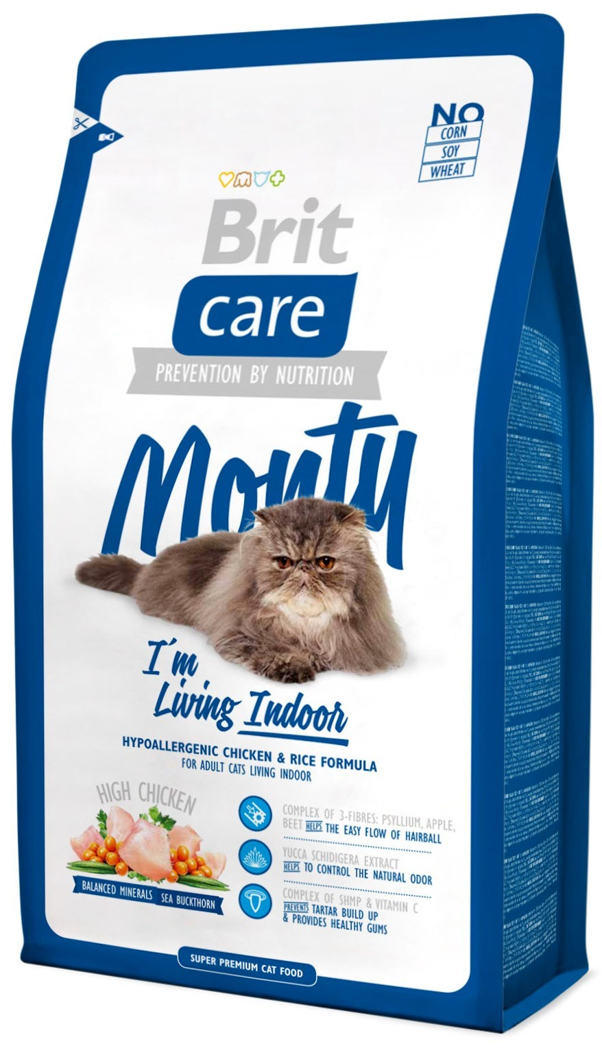 Brit Корм для кошек живущих в помещении, Brit Care Cat Monty Indoor монти.jpg