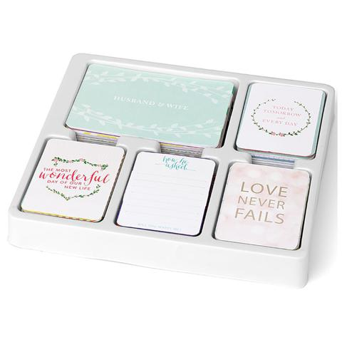 Southern weddings edition CORE KIT- комплект карточек для Project Life 616шт