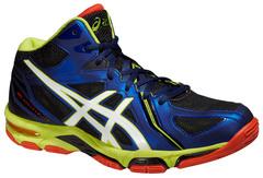 Мужские высокие волейбольные кроссовки Asics Gel-Volley Elite 3 MT (B501N 5001) синие
