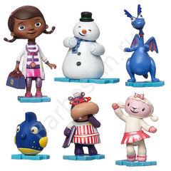 Игровой набор из 6 фигурок Доктор Плюшева - Doc McStuffins,  Disney