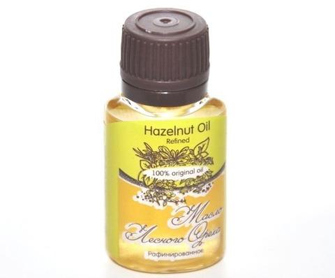 Масло ЛЕСНОГО ОРЕХА/ Hazelnut  Oil Refined / рафинированное, 20 ml
