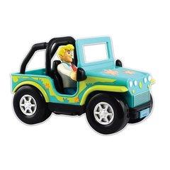 Игровой набор Автомобиль (Monster Catcher 4x4)  и фигурка Фреда - Скуби Ду (Scooby-doo), Hanna-Barbera