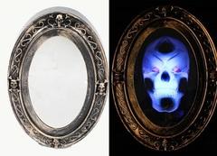 Хэллоуин анимированная декорация Призрачное зеркало