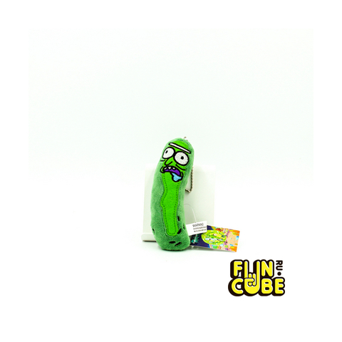 Брелок Мягкий Rick and Morty Pickle Rick