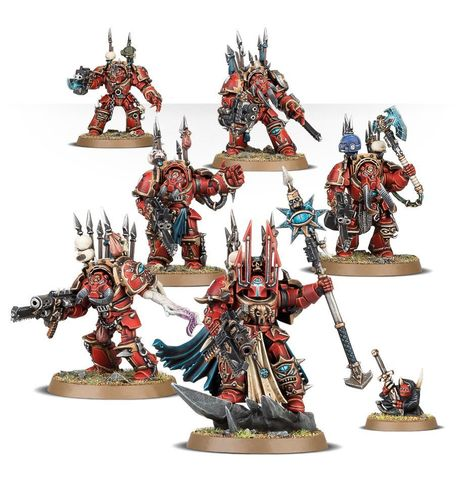 CHAOS S/MARINES TERMINATOR LORD'S CADRE