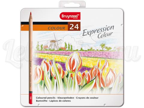 Набор из 24 цветных карандашей Bruynzeel Expression Colour