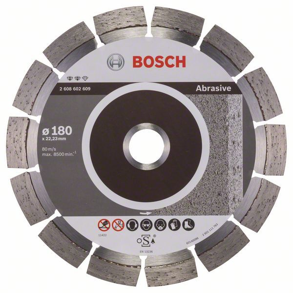 Алмазный диск Expert for Abrasive180-22,23 Bosch 2608602609
