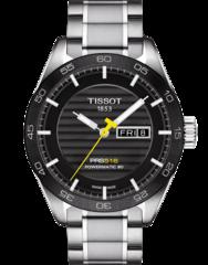 Мужские швейцарские наручные часы Tissot T-Sport PRS 516 T100.430.11.051.00