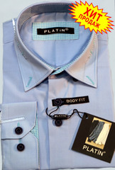 Рубашка для мальчика  Platin полуприталенная