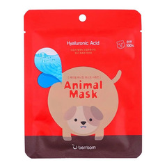 Berrisom Animal Mask Series Dog - Маска тканевая с гиалуроновой кислотой